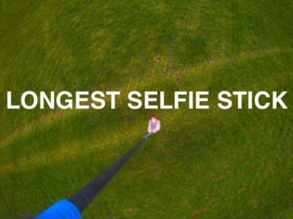 World's longest selfie stick is here but can't get stunning photos