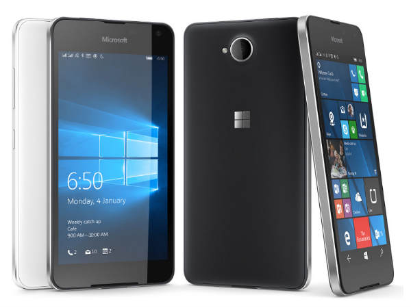 Microsoft Announces Lumia 650 and Lumia 650 Dual SIM with 4G LTE
