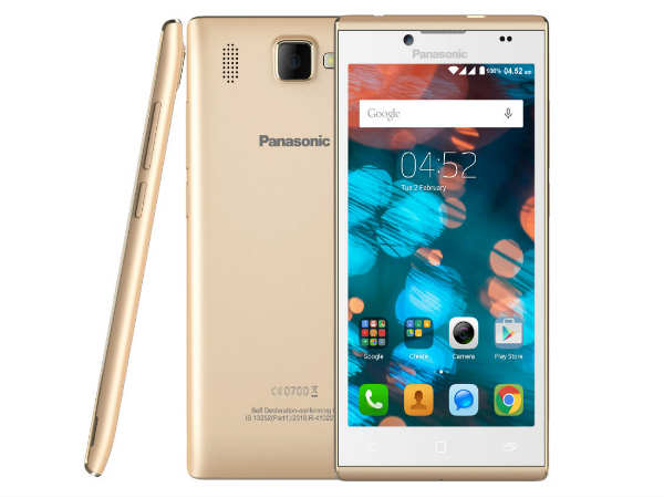 Panasonic Launches 4G Enabled Smartphone in India at Rs 7,990