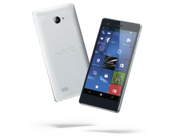 VAIO Phone Biz, A Sleekest Windows 10 Phone With 5.5-Inch Display