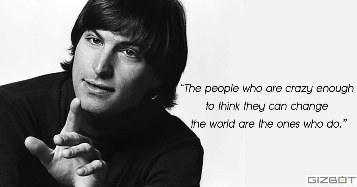 Steve Jobs Late Apple Ceo Most Inspirational Quotes Gizbot News