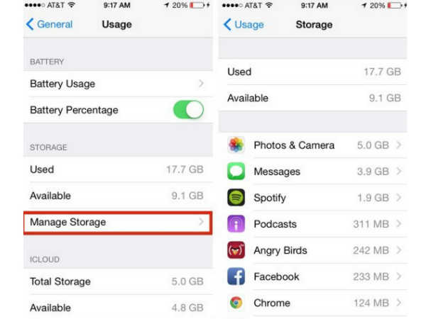 9 Expert Hacks To Improve Your Apple iPhone 6s Storage