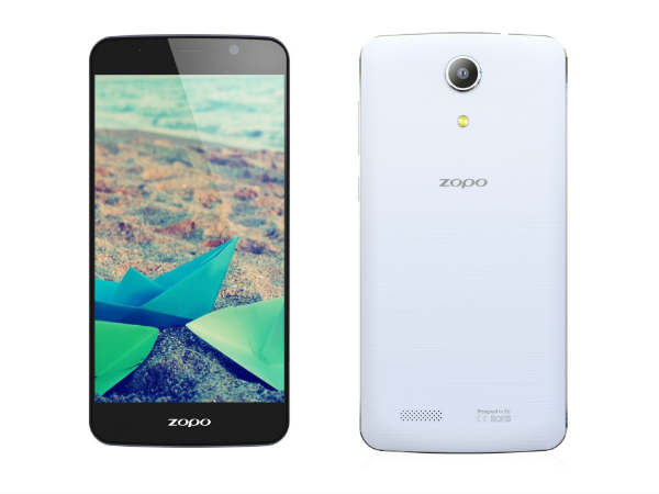 Zopo Launches Hero 1 Smartphone With 5-Inch Display For Rs 12,000