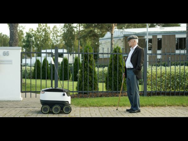 Starship Technologies local delivery robot