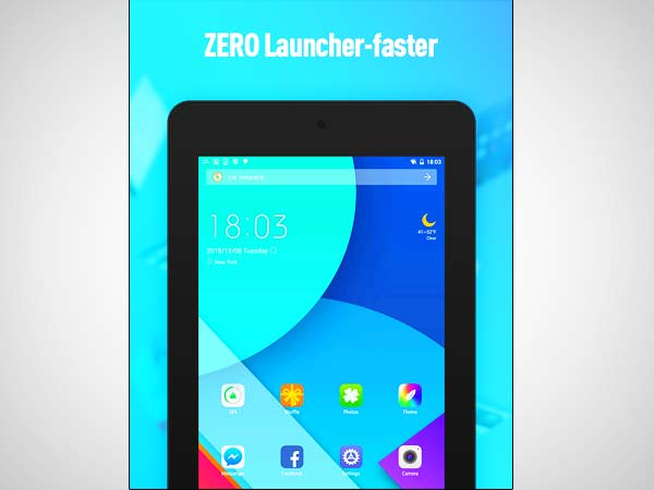 ZERO Launcher pro, smart, boost