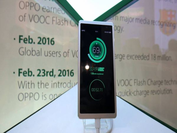 Oppo's Fast Charging Technology