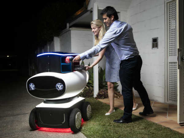 Domino's To Delivery Hot Pizza Right To Your Door Using Delivery Robot