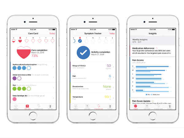 Apple CareKit aimed at garnering Medical Research launched