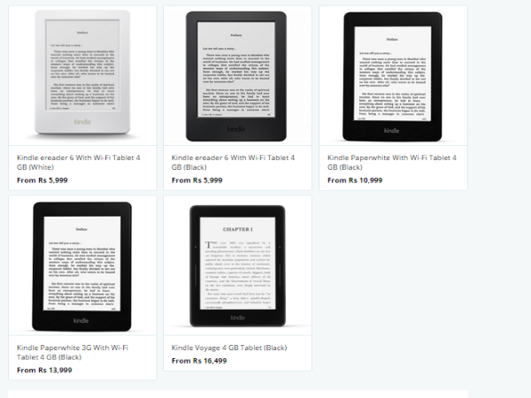 Flat 15% Cashback On Amazon Kindles and More