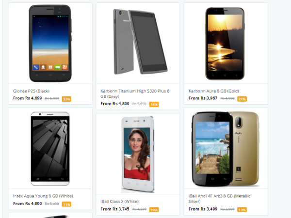 Flat Rs.500 Off on Budget Mobile Phones Hurry Up