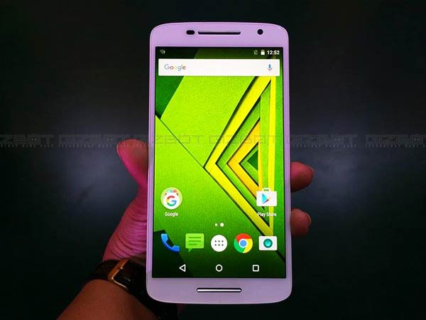 Motorola Moto X Play Receives Android 6.0.1 Marshmallow Update