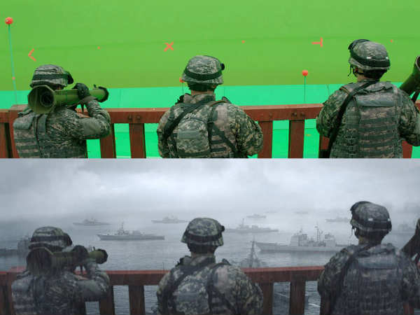 15 Amazing Before and After VFX Shots From Your Favorite Movies