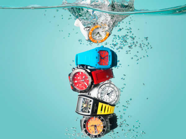 Waterproof watches