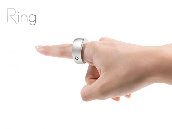 A ring with smart features: