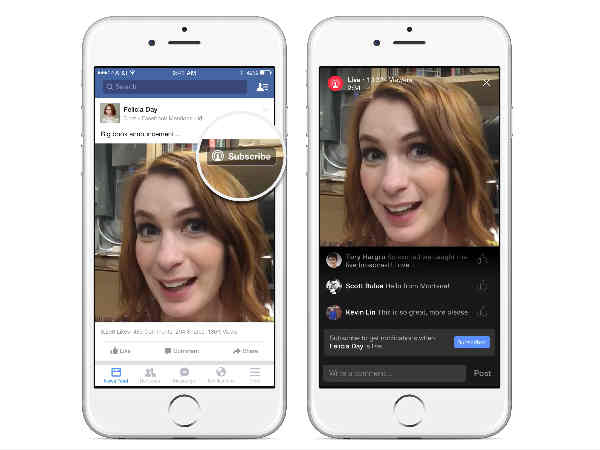 Facebook pushes live video feature high on your News Feed