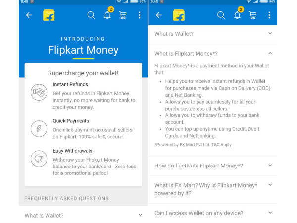 Flipkart Money: 7 Facts to be Aware off before you start using it