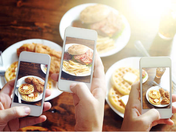 'Food porn' on Instagram can make you taste meal better
