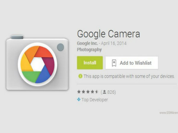 Google's Camera app may get Google Goggles functionality
