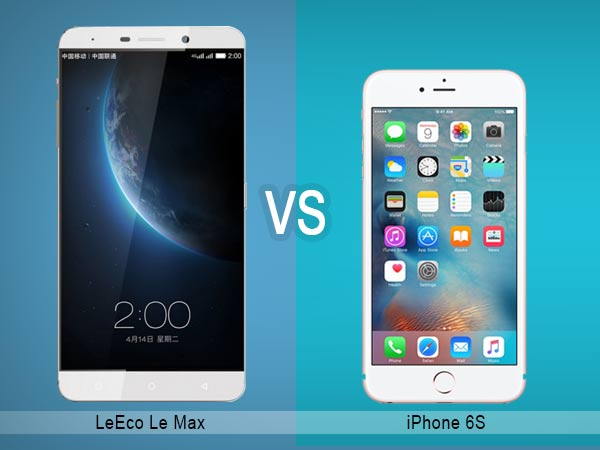 Leeco Vs Iphone