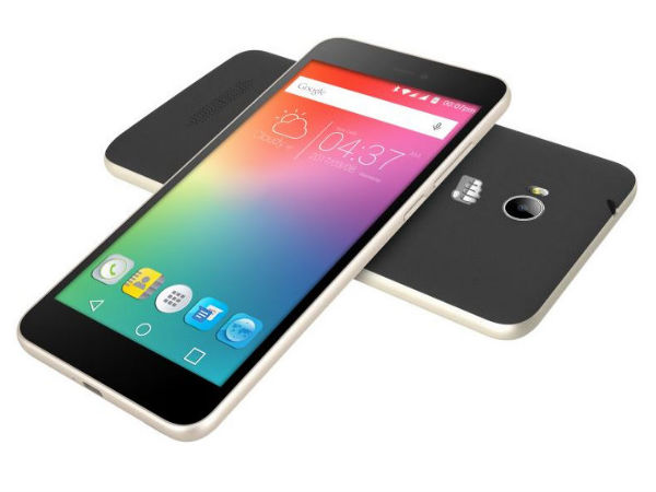 Micromax launched a Rs 4,999 smartphone with a 'loud speaker' inside