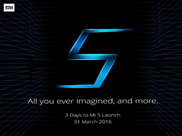 Watch out, Apple and Samsung, Xiaomi Mi 5 is Coming!