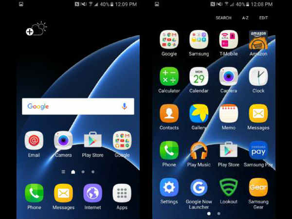 Check Out Samsung Galaxy S7 And S7 Edge's Super-Clean TouchWiz