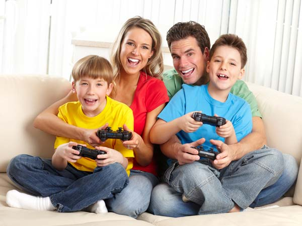 Report: Let Your Kids Play Video Games!