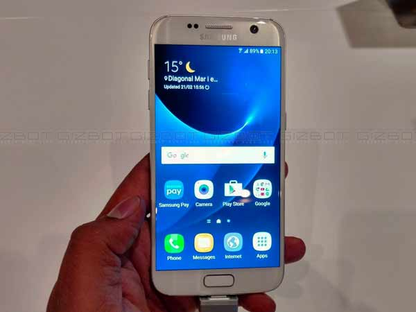 Samsung Galaxy S7, S7 Edge receiving Android Nougat update in India