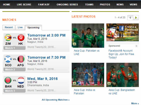 ICC T20 World Cup: Here is how to stay updated
