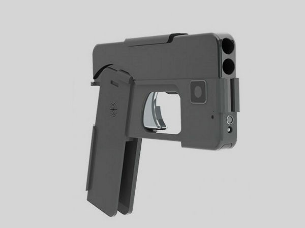 You can conceal this gun like a smartphone