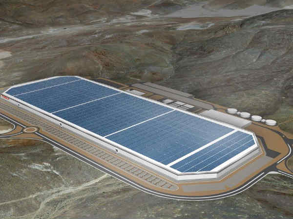 Tesla's Gigafactory Will Be World's Largest Footprint of Any Building!