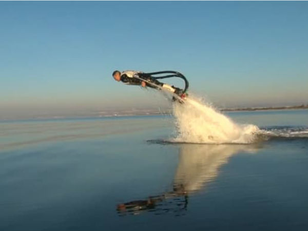 The Zapata Flyboard