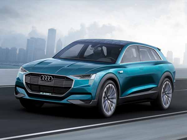 Audi's first electric SUV