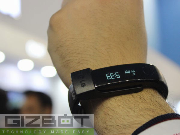 Fitness Band? Not now!