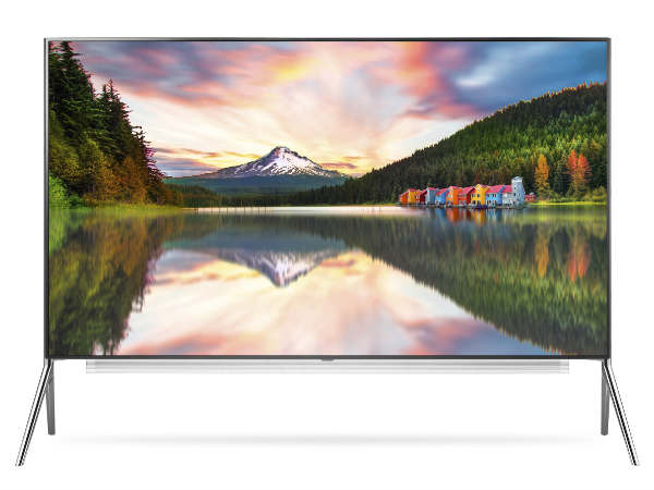 No 98 inch 8K TV for India, at least this year!