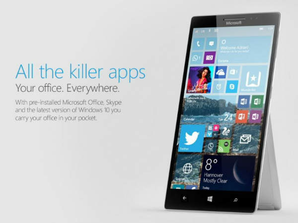Microsoft executive hints about a better phone