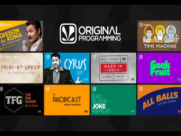 10 New Shows will Debut on Saavn starting May 1st!