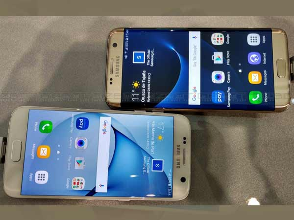 Now Samsung Galaxy S7 and S7 Edge Available in Gold Pink Variant