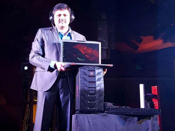 Acer launches eight 'Predator' gaming series devices in India