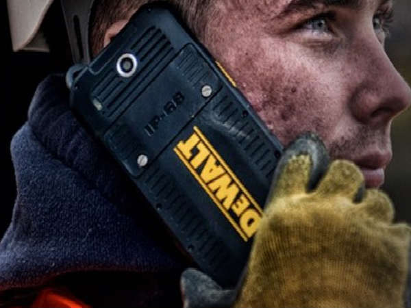 US construction tools firm DeWalt launches first smartphone