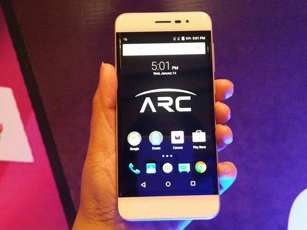 Panasonic Launches Eluga Arc with Fingerprint Sensor, 2GB RAM