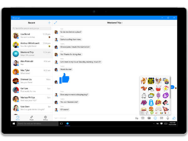 Windows 10 gets new Facebook, Messenger apps