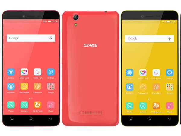 Gionee Pioneer P5L Smartphone Launched in India at Rs 8,499