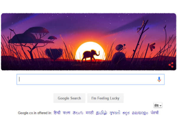 Google celebrates Earth Day with doodle