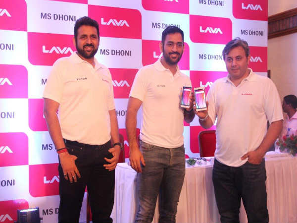 Captain Cool MS Dhoni is the New Brand Ambassador of Lava Mobiles!