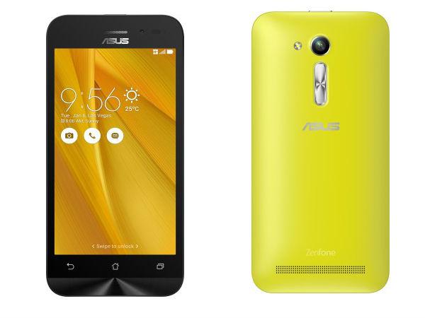 Asus Zenfone Go 4.5 (2nd Gen) Smartphone Launched in India