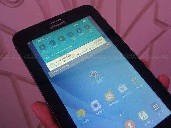 Samsung Galaxy Tab Iris is Now Available at Rs 13,499