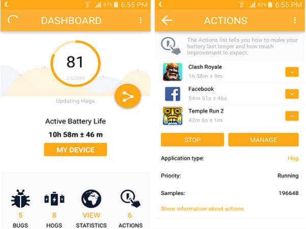 App tells what is eating up your smartphone battery