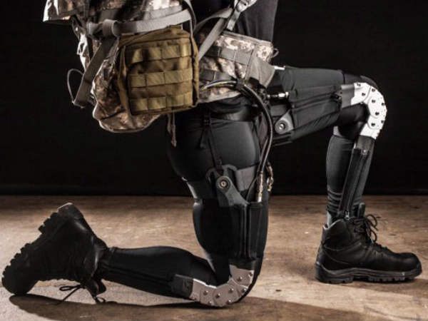 Soft wearable exosuit to help soldiers, rescuers