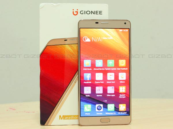 Gionee Launches Marathon M5 Plus Smartphone at Rs 26,999